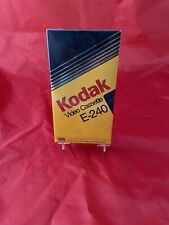 Brand New Factory Sealed, Kodak VHS E240 Blank 4 Hour Video Cassette Tape