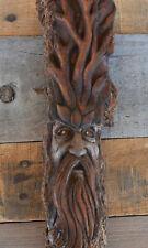 wood spirit wood carving by Justina