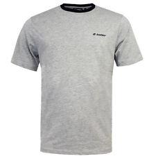 Lotto Contraste Camiseta Ringer Cuello Redondo Hombre Algodón s15ltam004 con / H