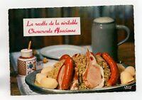 Recette - Choucroute alsacienne   (J2364)