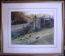Patrick Shirvington watercolour titled 'Afternoon Play'
