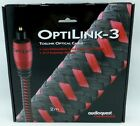 Audioquest OptiLink-3 2 meter Digital Toslink Fiber Optical Cable