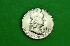 1960-P CHOICE   BU  Mint State  Franklin  SILVER  Half  Dollar (90% Silver))