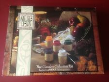 Nature's Design, The Garden Collection Fabric Paint Kit, By: Deka