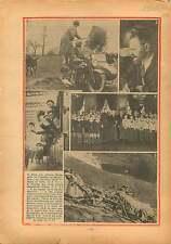Side-Car UK/Chanteurs de Vienne Hotel de Ville de Paris/Andes 1934 ILLUSTRATION