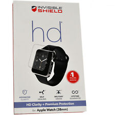 New Zagg A38HWS-F00 Invisible Shield HD Screen Protector for Apple Watch (38MM)