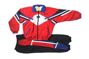 Freizeitanzug Trainingsanzug Sportanzug All Star  Rot/Schwarz/Royal/W. Gr. L, XL