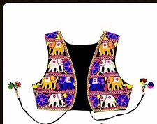 Handmade Elephant embroidered elegant Women waistcoat - Size 10