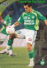 099 CHRISTOPHE LANDRIN AS.SAINT-ETIENNE CARD CARTE FOOT 2009  PANINI