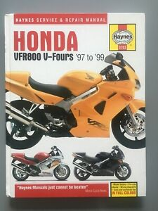 Honda VFR800 V-Fours 1997 to 1999  (Haynes Service a... by Coombs, Mark Hardback
