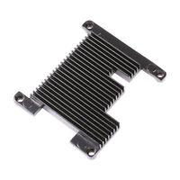 Custom Aluminum Cooling Heatsink & Thermal Compound Paste for Raspberry Pi 3, 2