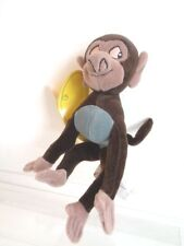 "DISNEY STORE - TARZAN 9"" BABY BABOON BEANIE SOFT TOY - NEW WITH TAGS"