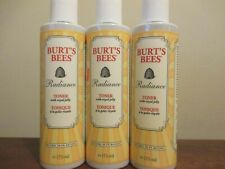 Lot of 3 Burt's Bees Radiance Toner With Royal Jelly 175 ml (6 oz)