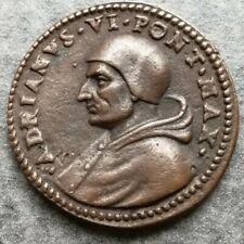 Medaglia Vaticano Adriano VI 1522 Spirito Santo 32mm 13,70gr