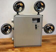 Chloride Systems MTN125ZT4ADTD 125 Watt 4 Bulb Emergency Lighting - NEW