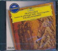Franz Liszt Annees de Pelerinage Italie CD NEW Wilhelm Kempff