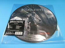 MEGADETH DYSTOPIA VINYL PICTURE DISK 2016 HEAVY METAL SEALED RECORD LP