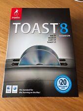 Roxio Toast 8 Titanium for Mac in original box, genuine