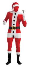 Rub - 2nd Skin Herren Kostüm Weihnachtsmann Stretch Overall