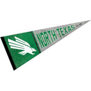 University of North Texas Throwback Vintage Full Size Pennant
