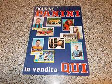 LOCANDINA ALBUM FIGURINE PANINI MANIFESTO PUBBLICITARIO ORIGINALE ANNI 70