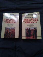 LURAGHI R. STORIA DELLA GUERRA CIVILE AMERICANA  due  volumi maggio 1994 Rizzoli