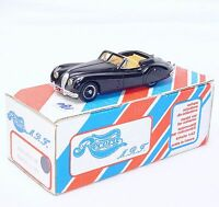Record Models 1/43 JAGUAR XK 140 CABRIOLET 1956 Resin Kit Car Hand Built MB RARE