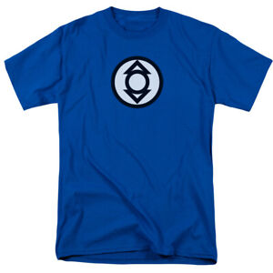 BLUE mens green lantern t-shirt cotton man/'s top sheldon XL made2order XL