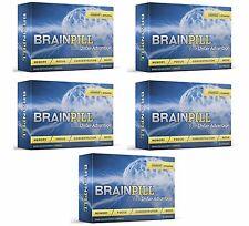 BRAIN PILL 5 Month Focus Supplement Boost Memory Cognizin Synapse BrainPill