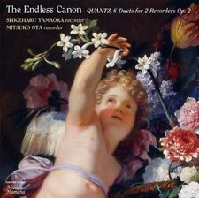 SHIGEHARU YAMAOKA-THE ENDLESS CANON QUANTZ. 6 DUETS FOR 2...-JAPAN CD G39
