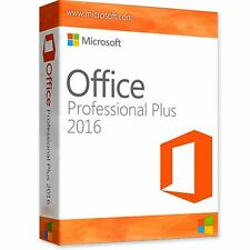 Microsoft Office 2016 Professional Plus For Windows Licence Product Key*