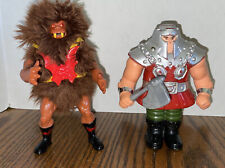 Vintage He-Man Grizzlor And Ram Man Masters of the Universe! Great Condition!!
