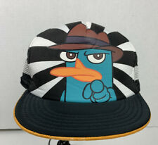 Perry The Platypus Hat Phineas And Ferb Adjustable Disney SnapBack Detective Cap