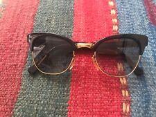 Occhiali da sole vintage nero anni 80s black vtg sunglasses