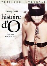 Dvd  Histoire d'O - Versione Integrale (Intervista 15 min.Corinne Clery) ..NUOVO