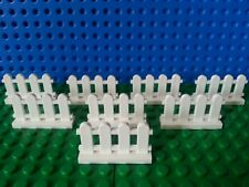 LEGO Bulk picket Fence x8 City Train Advent Friends Cargo Police NEW