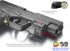 ArmaLaser GTO RED Laser Sight for Compact & Sub Compact Pistols & Guns w/ Rails