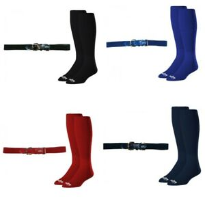 Rawlings Baseball Belt and Sock Combo Youth and Adult Sizes Multiple Colors