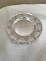Gorham Dutch Boy/Girl Sterling Silver Childs Plate Dish Engraved