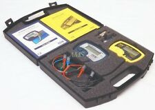 Dca75 Amp Lcr40 Peak Atlas Component Analyzer Kit With Manuals Case Battery New