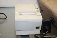 Epson TM-T88IIP Receipt Thermal Printer Parallel  Model:M129B w/ Power Supply