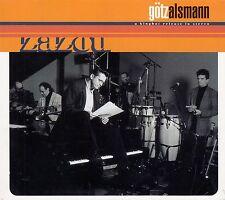 GÖTZ ALSMANN : ZAZOU / CD - NEU