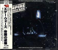 STAR WARS The Empire Strikes Back JAPAN W.GERMANY 1985 1st Press CD P33W50002