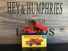 Matchbox Regular Wheels no.48C-1.Version v.n.mint Rare F-Box excellent 1966/68