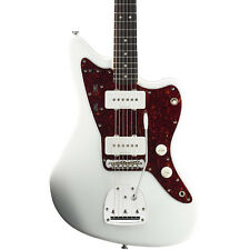 Squier Vintage Modified Jazzmaster Electric Guitar Olympic White Rosewood