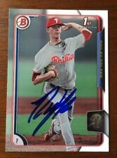 BAILEY FALTER 2015 BOWMAN AUTOGRAPHED SIGNED AUTO BASEBALL CARD 3 PHILLIES
