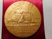 Médaille française bronze 1919 Charles Philippe PILLET banque Credit Lyonnais