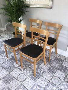 4 Retro Kitchen Chairs