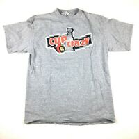 VTG Ottawa Senators NHL Stanley Cup Playoffs T-Shirt Cup Crazy Made in Canada XL