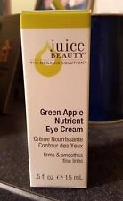 Juice Beauty Green Apple Nutrient Eye Cream Full Size .5 oz NIB!